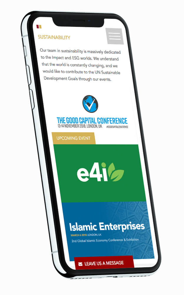 Frontier Exchange mobile website design boca