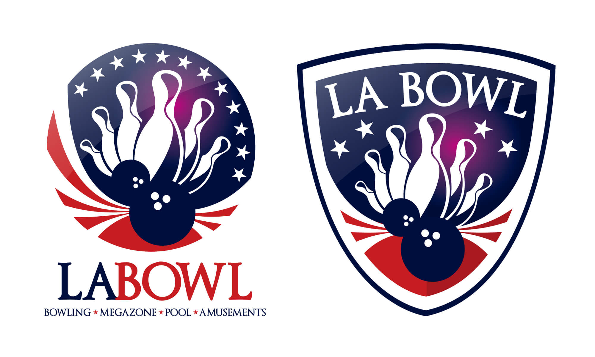 LA Bowl Ayrshire Logo Design Boca