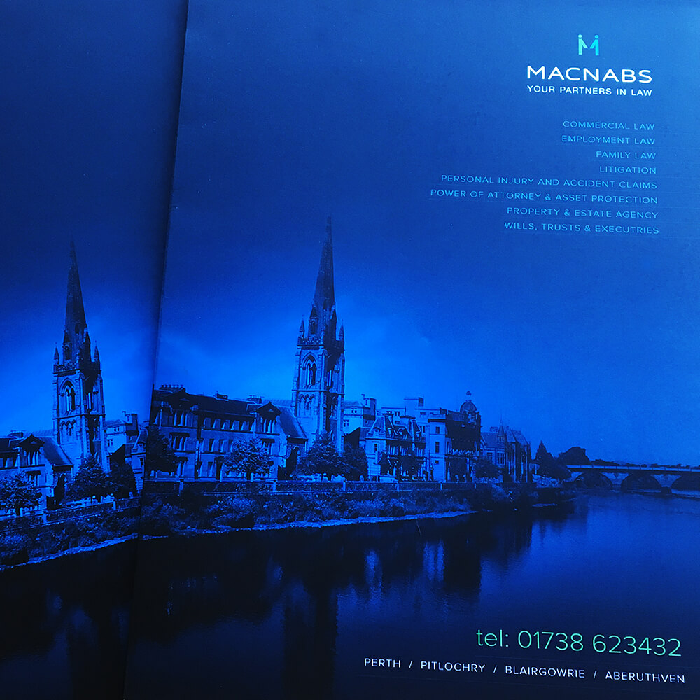 Macnabs brochure design Boca