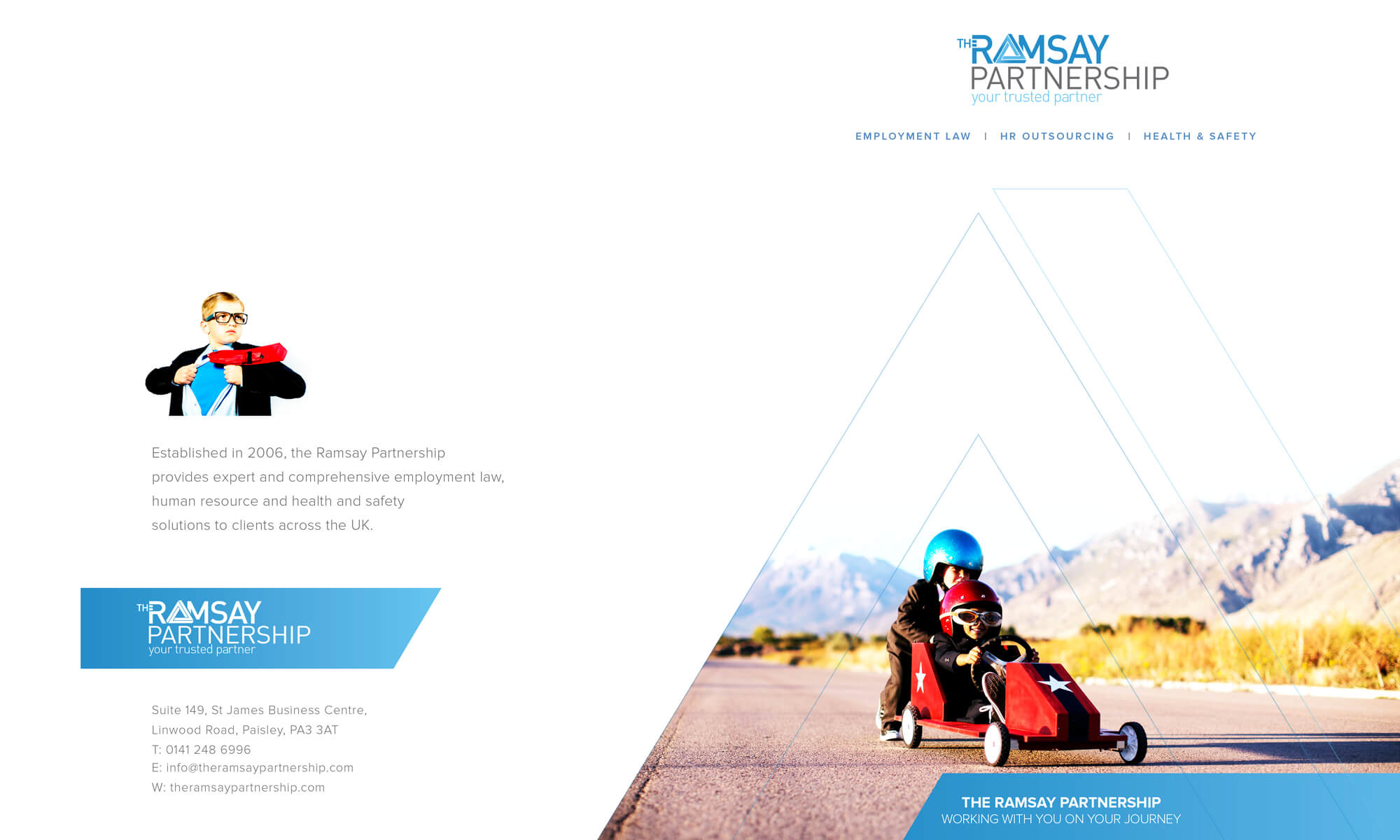ramsays brochure design boca