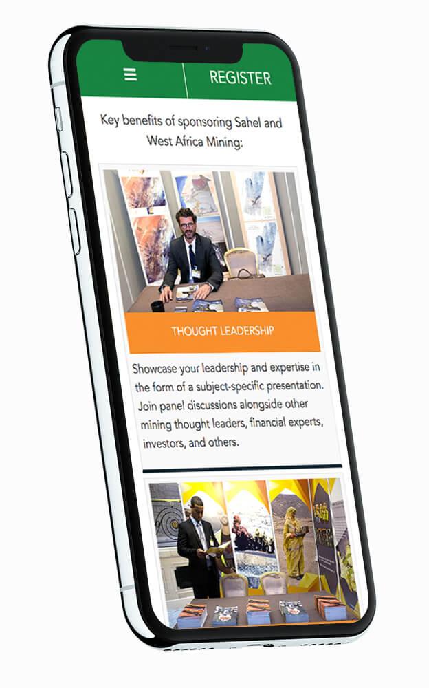 Sahel Mining Responsive Website Design Boca