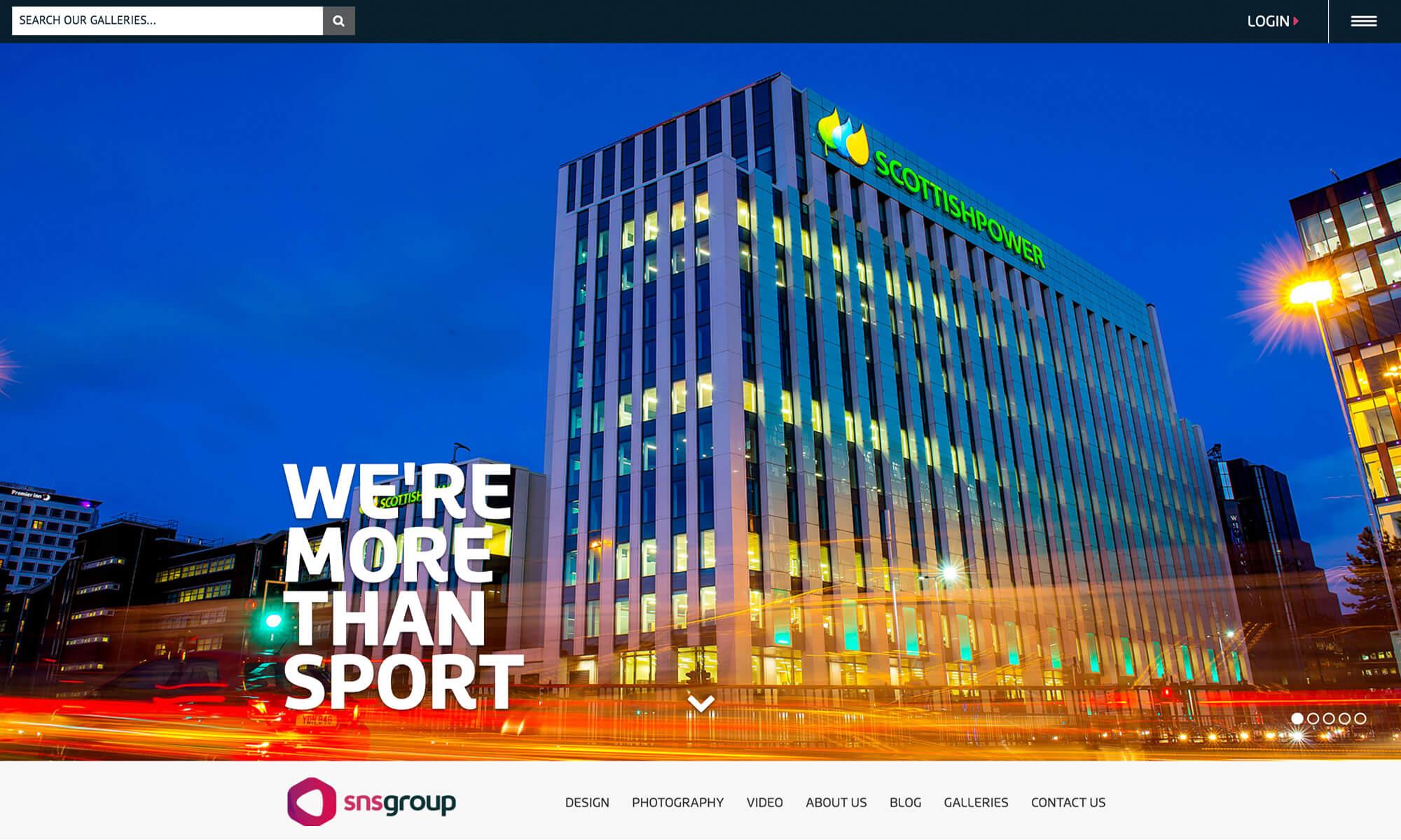 sns website redesign Boca